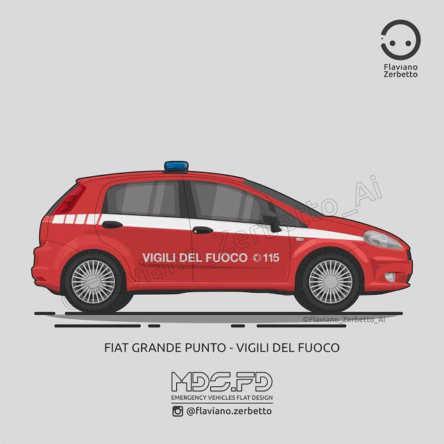 KombiT1: Fiat Grande Punto Vigili del Fuoco