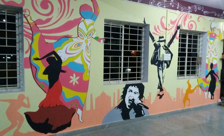 Dance class..classical mj Murals