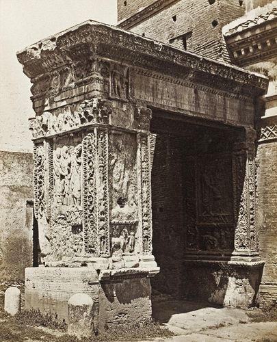 L'arc des orfèvres (The Arch of the Silversmiths) 1858