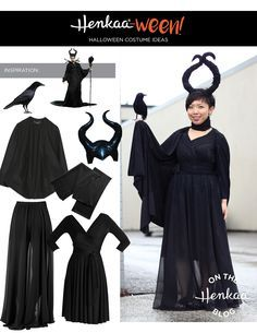 Get the best dressed prie at your next Halloween party with this magnificent Maleficent Costume, inspired by the Disney Angelina Jolie version