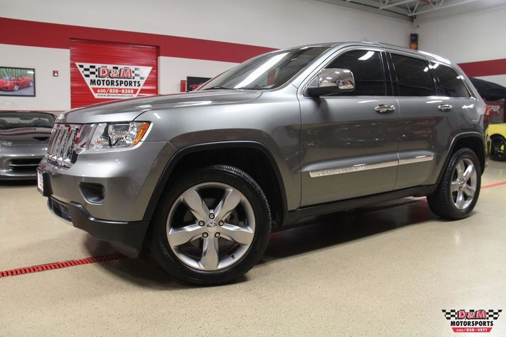 cool Amazing 2011 Jeep Grand Cherokee Overland 4WD 2011 Jeep Grand Cherokee Overland 4WD 76714 Miles Mineral Gray Metallic Clear Co 2018