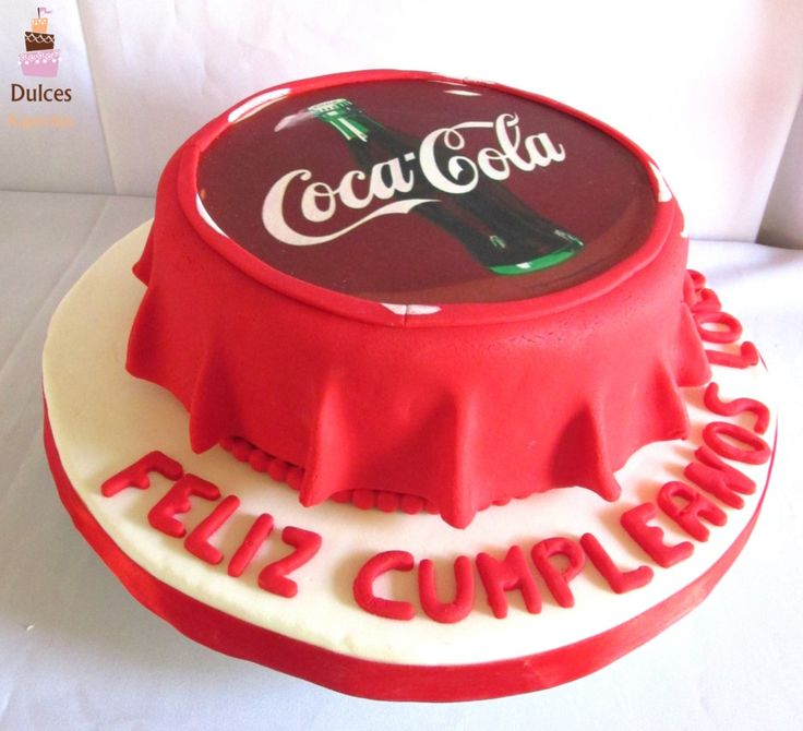 #TortaCocaCola #TortasDecoradas #DulcesKaprichos