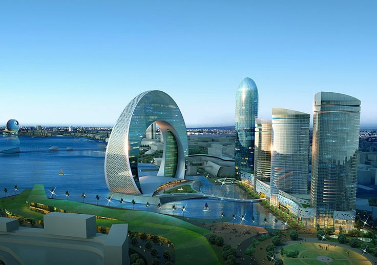 Future City Buildings Technology is chaning the face of the world
