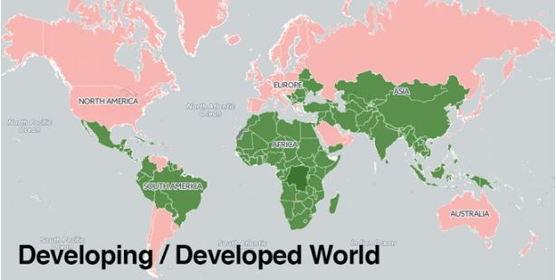 developed developing countries World Bank