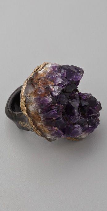 Adina Mills Design Amethyst Ring