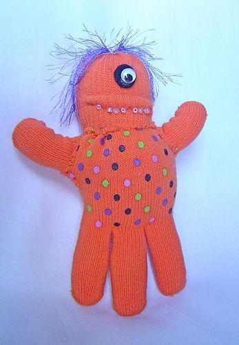 Monster craft--glove monsters.  Maybe for all those lonesome gloves in the lost and found?
