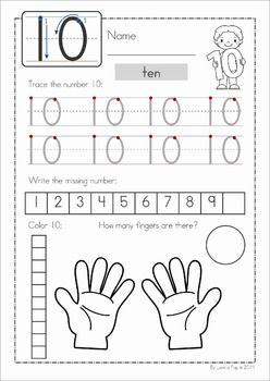 Number Concepts 1-20 Worksheets. Fun WorksheetsNumber Worksheets  KindergartenNumbers ...