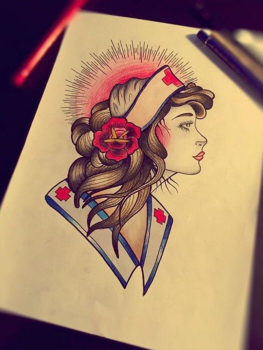 Nurse tattoo idea