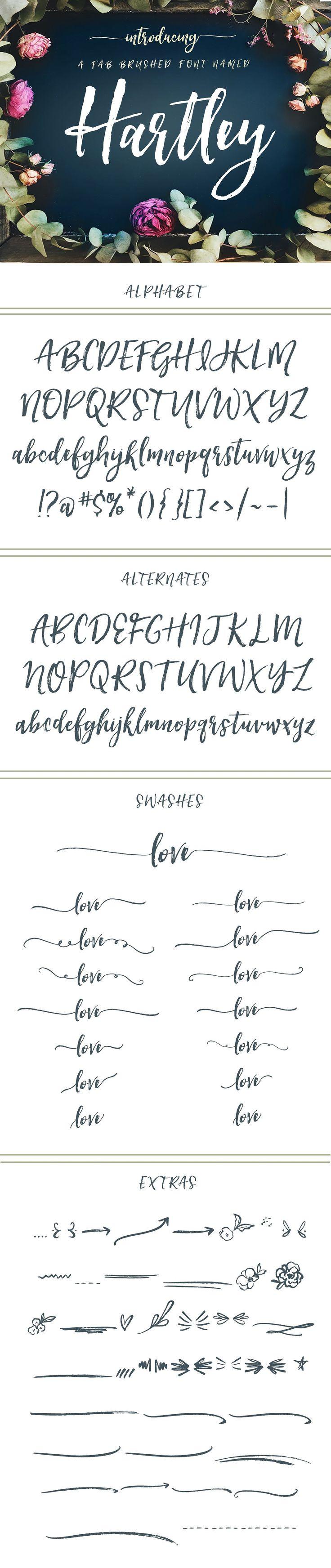 Hartley Font  - Script - 1