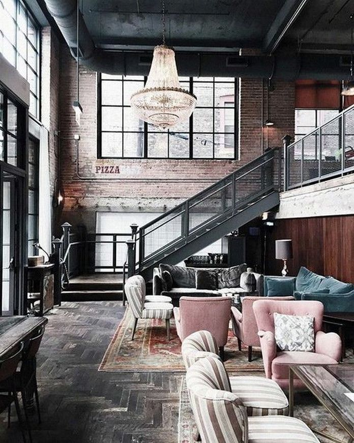 Best 25 converted warehouse ideas on pinterest Industrial home plans