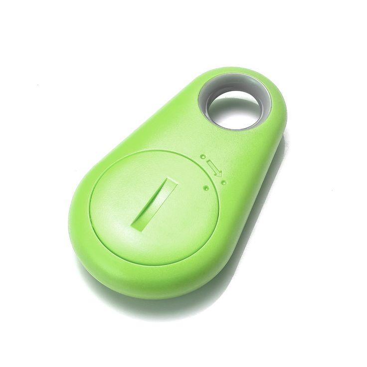 Smart Tag Wireless Bluetooth 4.0 Tracker Child Wallet Key Keychain Finder GPS APP Locator Anti Lost Itag Alarm System Green 1pc