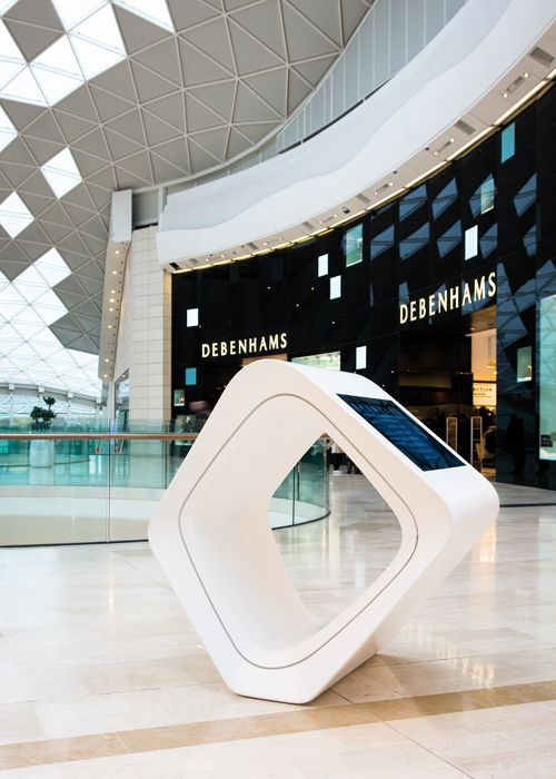 Solid Surface material for shopping malls