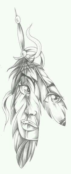So cute #tattoo #indian #girl #face
