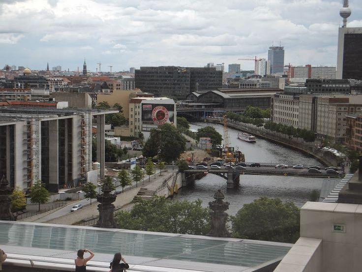 #Reichstagskuppel #Berlin #Vue #Landscape #Terrasse #Reichstag elisaorigami.blogspot