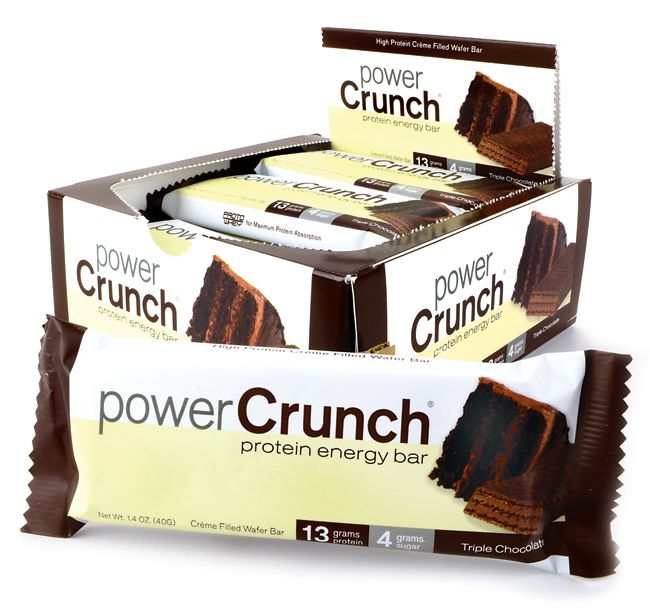 Eating protein bars after a work out help improve recovery time.