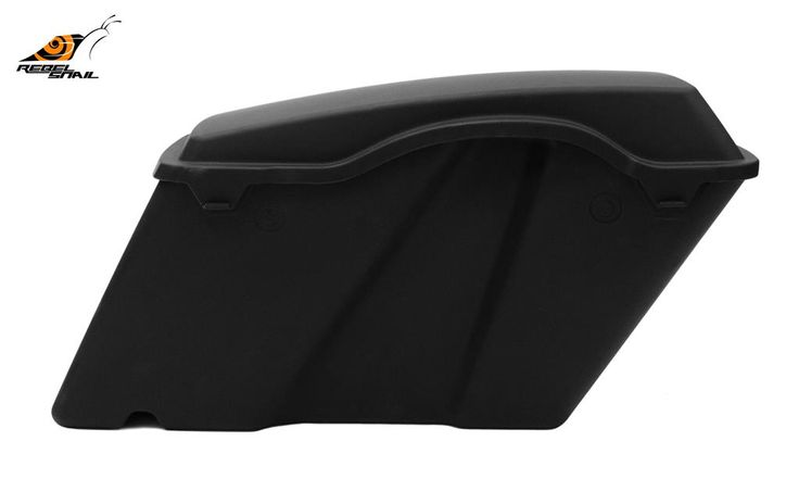 RS Hard Saddlebags Basic with lids for Touring 1993-2013 Image