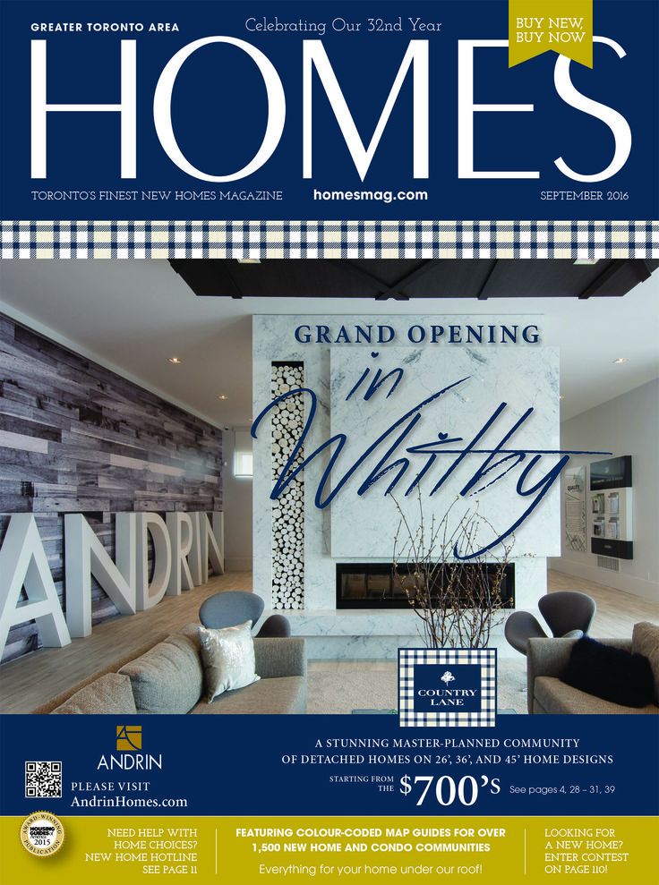 Find your new home with HOMES Magazine - your free, Home-Finder Guide online at... http://digital.homesmag.com/2016/September/?1  Visit us online at homesmag.com to use our home-finder web & app tools that make finding your new home a breeze! New Home Hotline, New Home & Condo Hunter, Cover: Andrin Homes