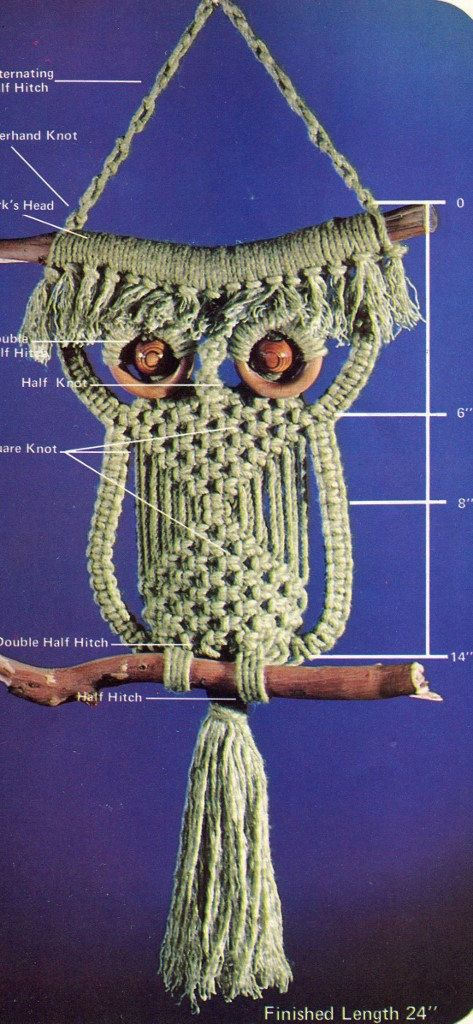 1000 Images About Macrame Owl On Pinterest Macrame Owl