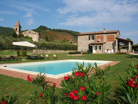 Holiday home in Lucca (Tuscany) Le Due Lanterne: The pool