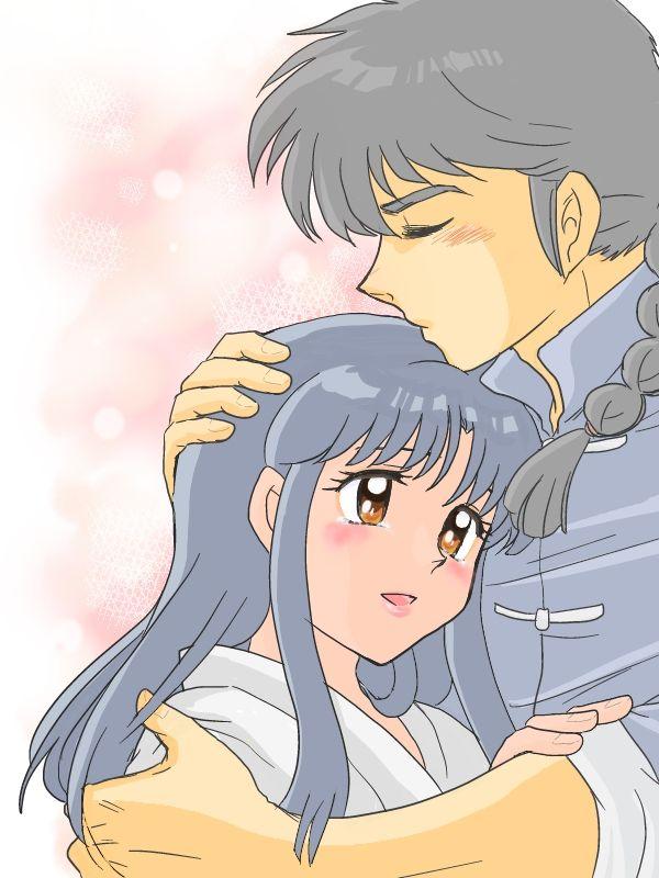 Ranma y Akane ~ Fansite:http://eluniversoderanma.wix.com/eluniversoderanma - Todo sobre Ranma ½! Tags: eluniversodeRanma, Ranma 1/2, Akane, Fanart, Ranma Saotome, Ranma ½, Rumiko Takahashi (C) いずみ