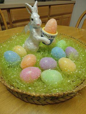 Epsom salt plastic eggs