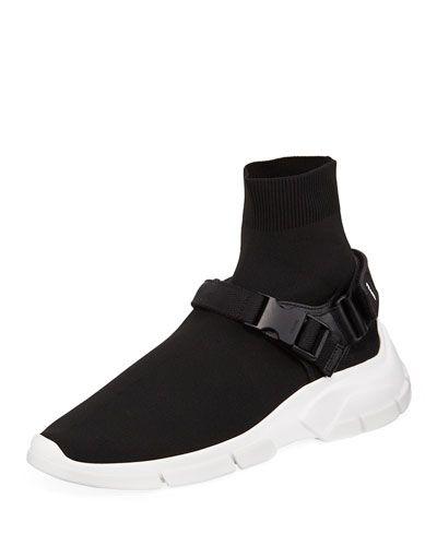 Sneaker Prada Sock Men's Buckle SneakersProducts 2019 In Boot rxBoWdeC
