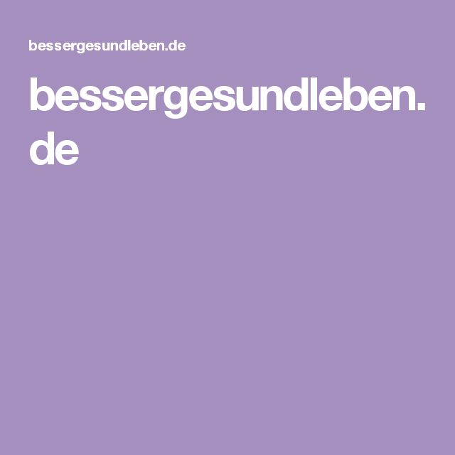 bessergesundleben.de
