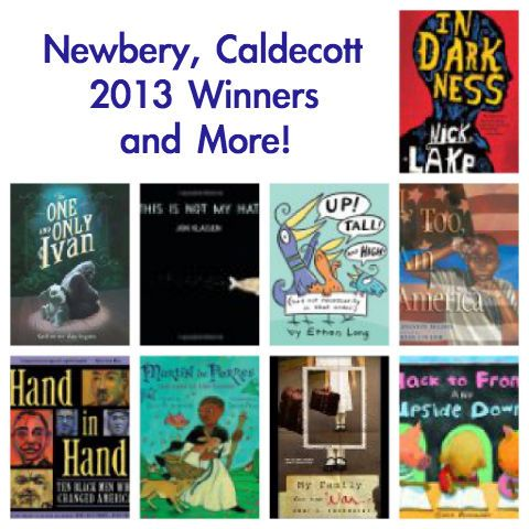 Newbery, Caldecott and Printz Winners of 2013  Congrats to all the authors, illustrators, publishers, friends and family who helped in the creation of all these wonderful books! Which books have you and your kids read and which ones do you recommend? Please share!