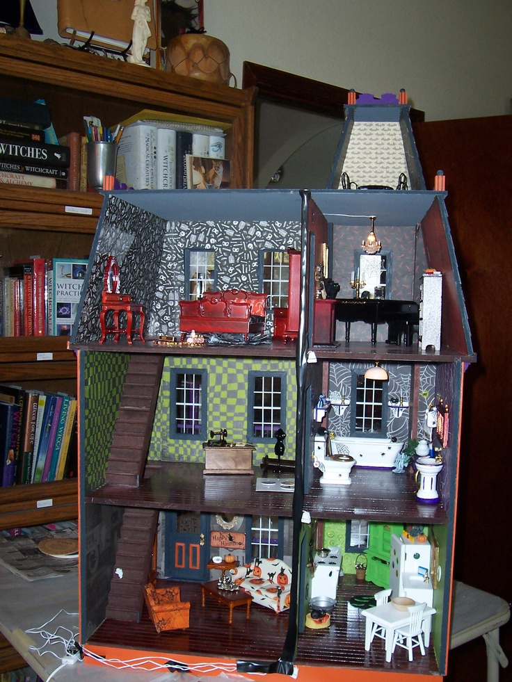 49 best halloween dollhouse images on