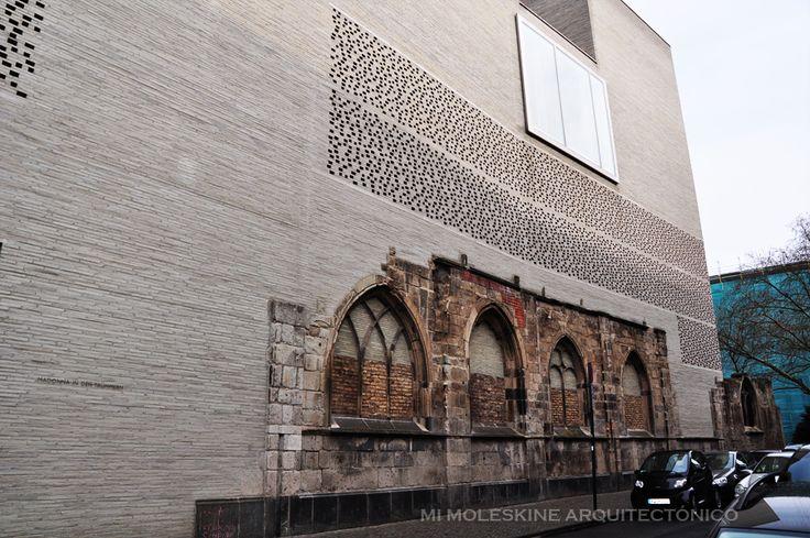 MY ARCHITECTURAL MOLESKINE®: PETER ZUMTHOR: KOLUMBA MUSEUM, COLOGNE