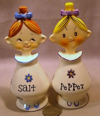 Vintage Flat Head Kids s P Shakers