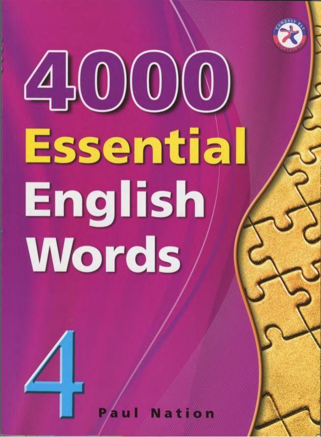 English Word Book
