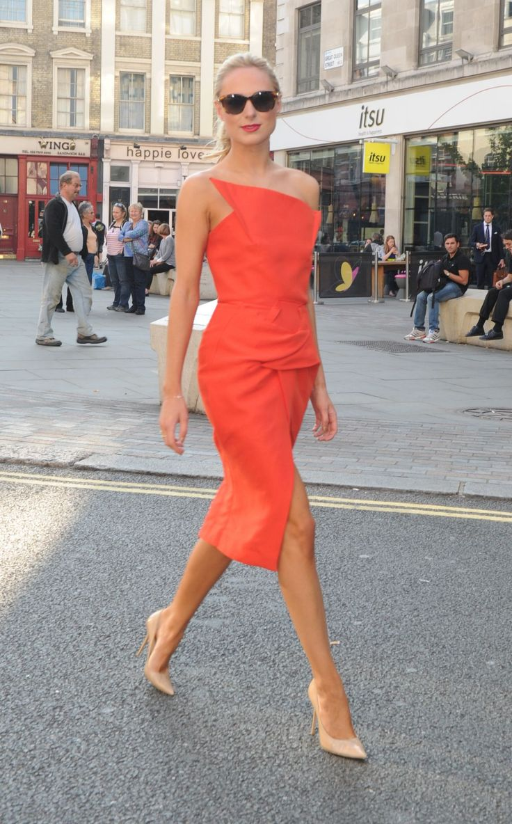 KIMBERLEY GARNER Arrives at Freemasons Hall in London