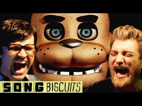The Five Nights at Freddy's Song by Good Mythical Morning ft. Markiplier! XD 10/10 Best song EVER! Love the sorta country style it has, too! (Big fan of country music)