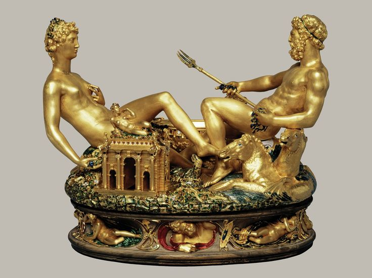 While in Vienna don't forget to visit the Kunstkammer, where you'll find the famous Saliera © Kunsthistorisches Museum Vienna #feelaustria