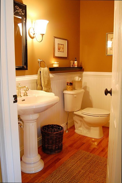 Bathroom Makeovers With Wainscoting 16 best wainscoting images on pinterest   bathroom ideas