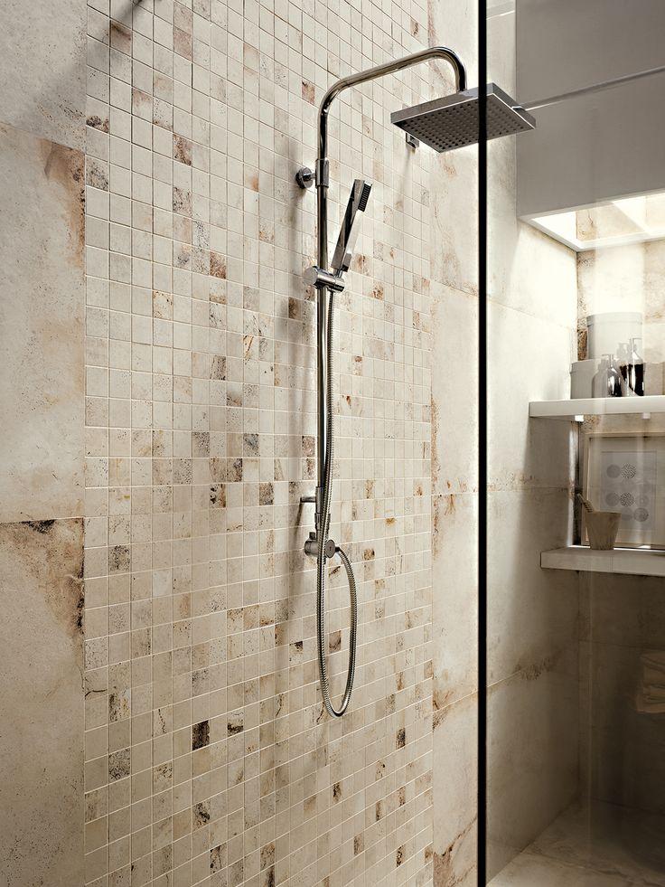La Fabbrica Ceramiche - LASCAUX Collection - www.lafabbrica.it - #shower #mosaico #ellison