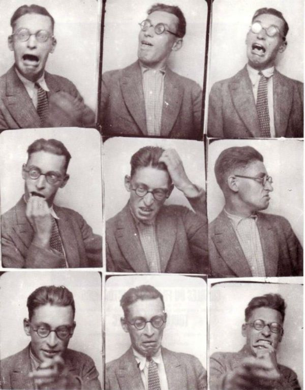 Raymond Queneau, Photomaton, 1928, Fonds Jean-Marie Queneau/diff. éditions Gallimard.