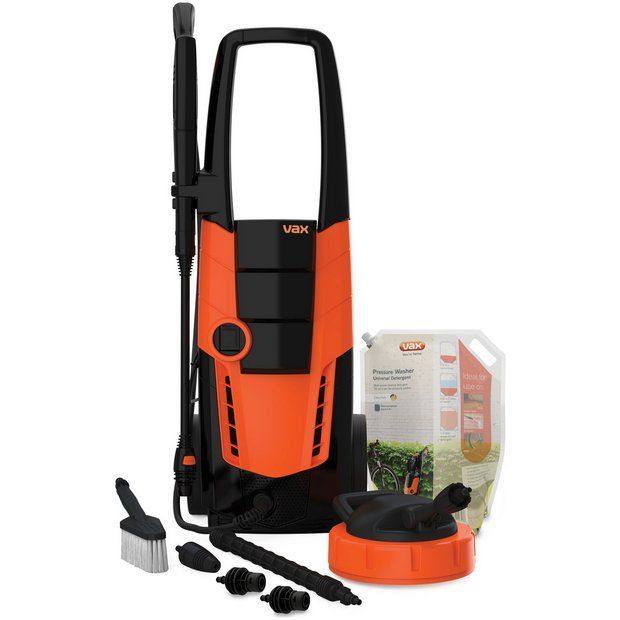 Buy Vax VPW4C Pressure Washer 3 Complete- 2500W at Argos.co.uk - Your Online Shop for Pressure washers and accessories, Lawnmowers and garden power tools, Home and garden.