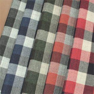 【楽天市場】ウール【28390】【柄物】【送料無料】【ウール生地】カラー全5色【生地サンプル】【ウールツイード】28390 ☆ジャケットやスカート ワンピースに最適☆帽子やブランケットなど小物にも:生地のオガワ