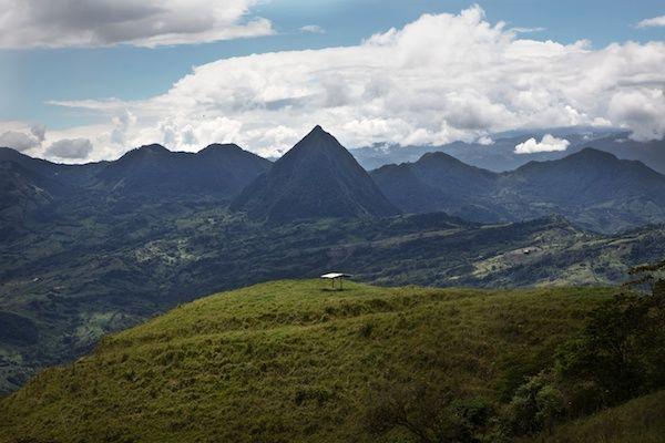 Cerro Tusa: eine Atemberaubende Landschaft im Südwesten der Kaffeeregion Antioquia