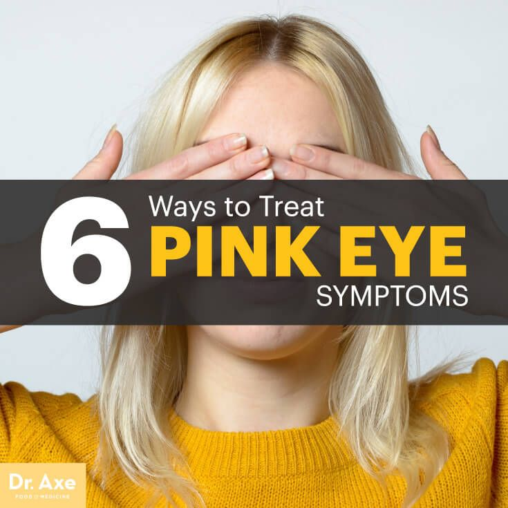 Pink eye symptoms - Dr. Axe http://www.draxe.com #health #holistic #natural
