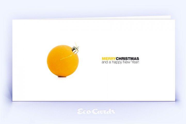 Die in gelben Farbtönen gehaltene Klappkarte und weitere stilvolle Motive für Firmen oder Unternehmen online kaufen.