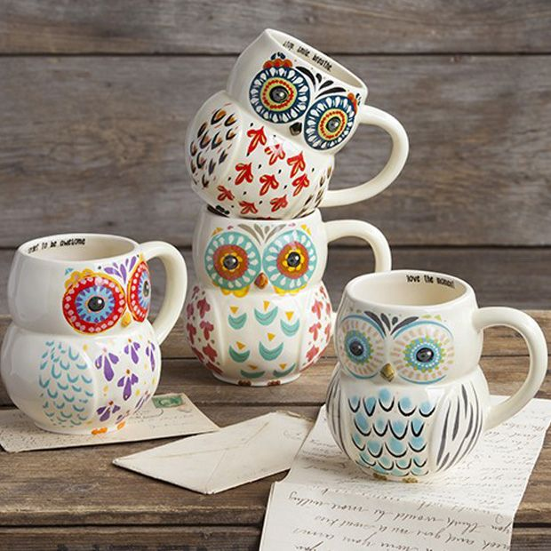 Owl - tasarım kupalar