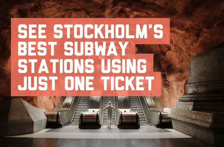See Stockholm's best subway stations using just one ticket