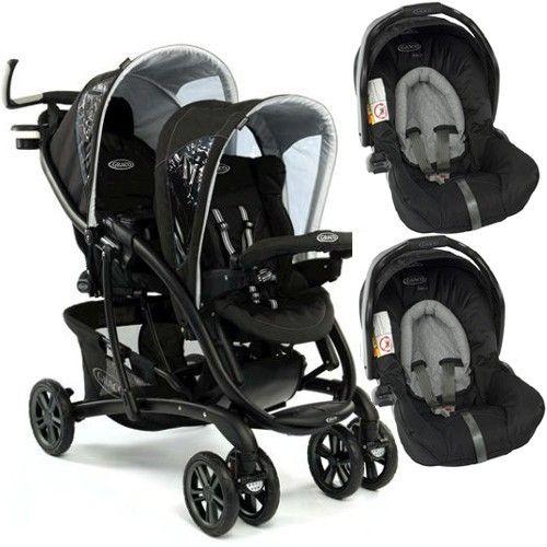 Graco Quattro Tour Duo Tandem + 2 Junior Baby Car Seat