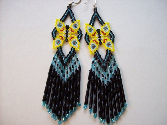 236 best images about butterfies beadwork patterns on for Native american handmade crafts