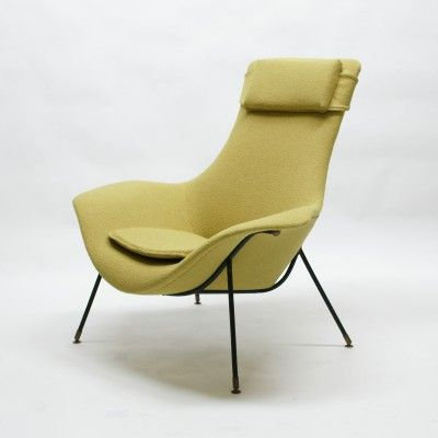 Lounge Chair by Augusto Bozzi for Saporiti