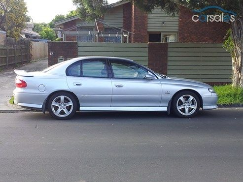 2002 Holden Commodore VX II SS