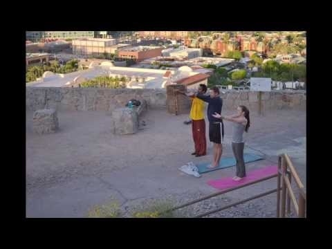 Arizona Outdoors Club Sunrise Yoga